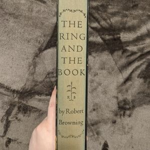 Vintage Accents - Robert Browning 1949 The Ring and the Book boxed